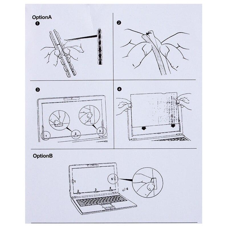 19,5 դյույմ գաղտնիության զտիչ LCD էկրան - Համակարգչային արտաքին սարքեր - Լուսանկար 5