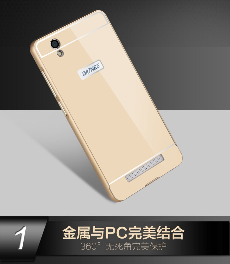 best loved 452eb 6c8bc US $2.98 |Gionee F103 thin metal shell, aluminum frame backplane acrylic  F103 mobile phone shell Gionee F103 on Aliexpress.com | Alibaba Group