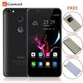 Gooweel M15 4 Г Смартфон Отпечатков Пальцев MTK6737 Quad core 5.0 дюймов IPS Android 6.0 мобильный телефон 2 ГБ 16 ГБ Сотовый телефон Бесплатно флип чехол
