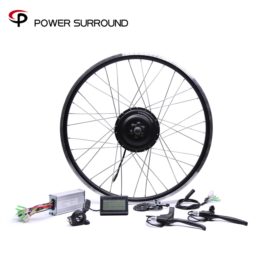 Bicicleta Eletrica 48v500w Bafang Front rear Electric Bike Conversion Kit Brushless Hub Motors 20 26 28