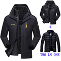 2016 new winter jacket male / female Down jacket Waterproof windproof leisure jacket Plus thick velvet Warm  coat jacket M-6XL