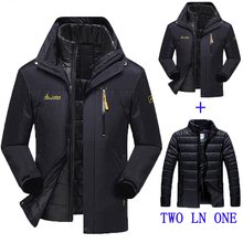 2016 new winter jacket male / female Down jacket Waterproof windproof leisure jacket Plus thick velvet Warm  coat jacket M-6XL