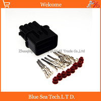 8 Pin male part Auto Head lamp/headlights connector KUM car waterproof Electrical connector for HYUNDAI KIA Elantra etc. 8 pin male lamp connectorconnector electrical -