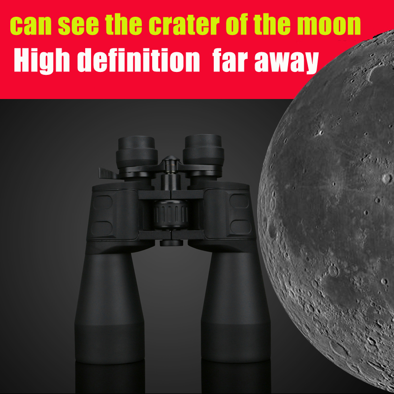 Borwolf 10-60 times High Magnification HD Professional Zoom Binoculars 10-380X100 Telescope Light Night Vision