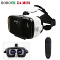 120 FOV Big HD Lenses Leather Version BOBOVR Z4 Mini VR Smartphone Cardboard Headset 3D Glasses Virtual Reality Helmet For 4-6'