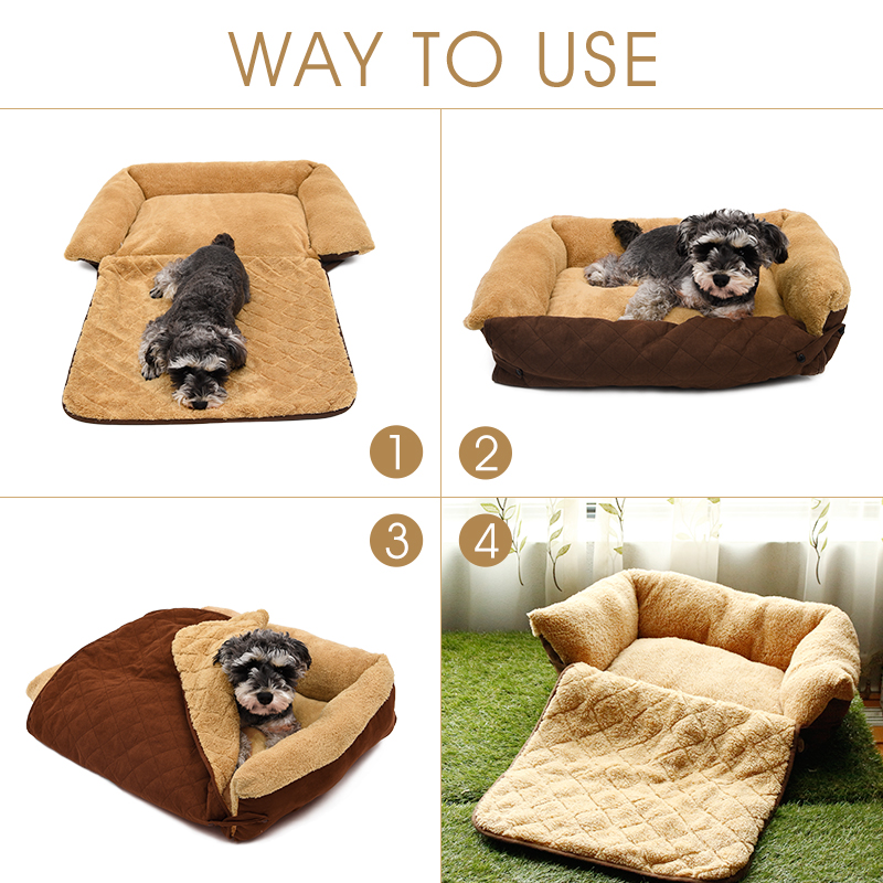 Sofa qen Dog / Cat e butë e butë për kafshë qeni qentë me - Produkte për kafshet shtëpiake - Foto 2