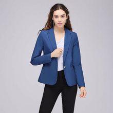 1c4eca29c1cd Azul de encargo chaqueta negro pantalones Formal desgaste de trabajo 2  unidades Set mujeres trajes de