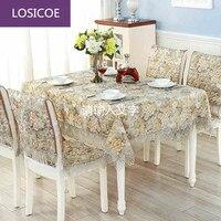 Top grade trải bàn Mục Vụ ghế bao gồm bảng đệm và ghế bó ghế ren che vải vòng đặt khăn trải bàn