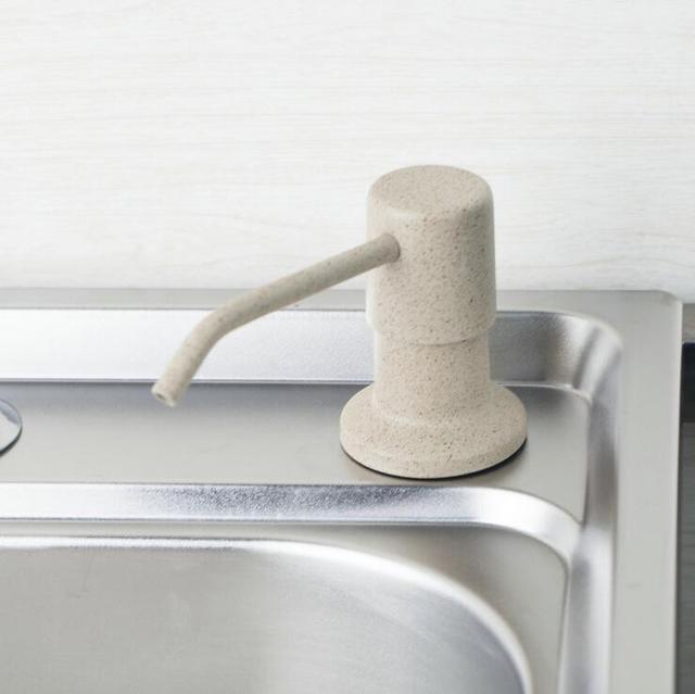 Edelstahl kopf seifenspender, bad handwäsche flüssigkeit ...