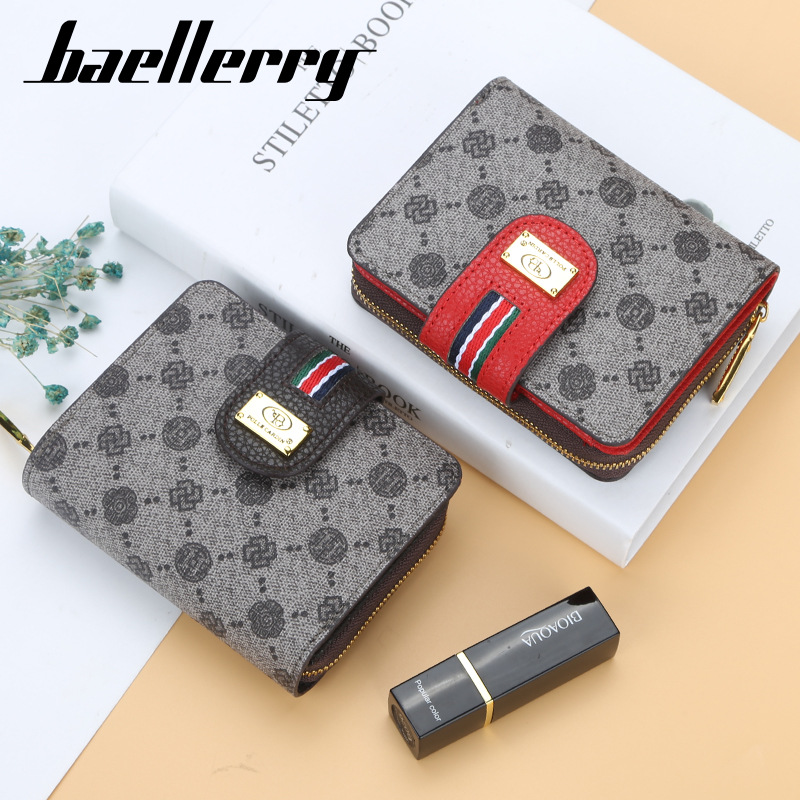 luxury brand fashion women Wallets leather Card Holder Clutch Wallet classic hasp purse Female zipper wallet with Coin pocket Women Women's Bags Women's Wallets cb5feb1b7314637725a2e7: Coffee|gray|Lavender|Pink|Red