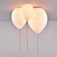 Ceiling Light Living Room Balloon Colorful Children Room Lights Bedroom Kids LED Glass Kindergarten Lamp Playground Lighting