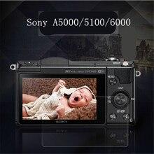 Против царапин пыли ясно закаленное оптическое стекло водонепроницаемый жк-экран фильма протектор для sony a5000 6000 5100