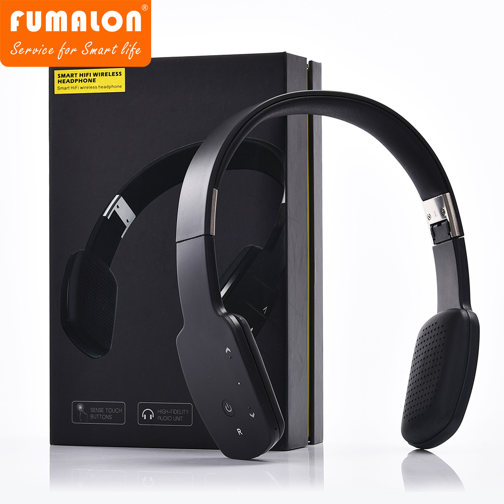 Touch wireless Bluetooth headset Wireless Portable Headphones Super Stereo Bass Noise Cancelling Headsets With Microphone LC9600 lexin 2pcs max2 motorcycle bluetooth helmet intercommunicador wireless bt moto waterproof interphone intercom headsets