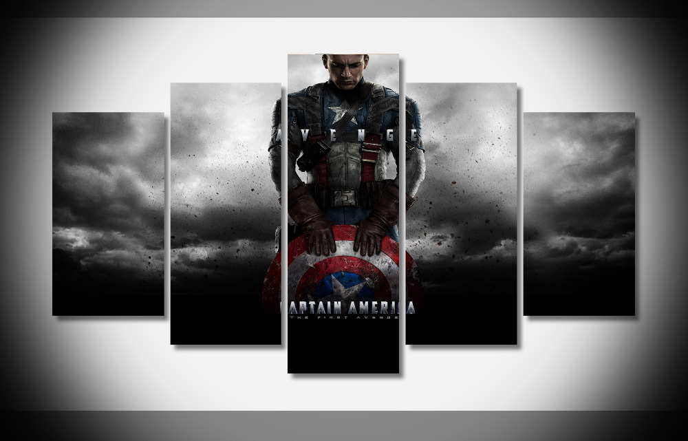 6781 avenge movie Poster print on canvas frame framed stretched gallery art NEW - gallery wrap art print home canvas decor