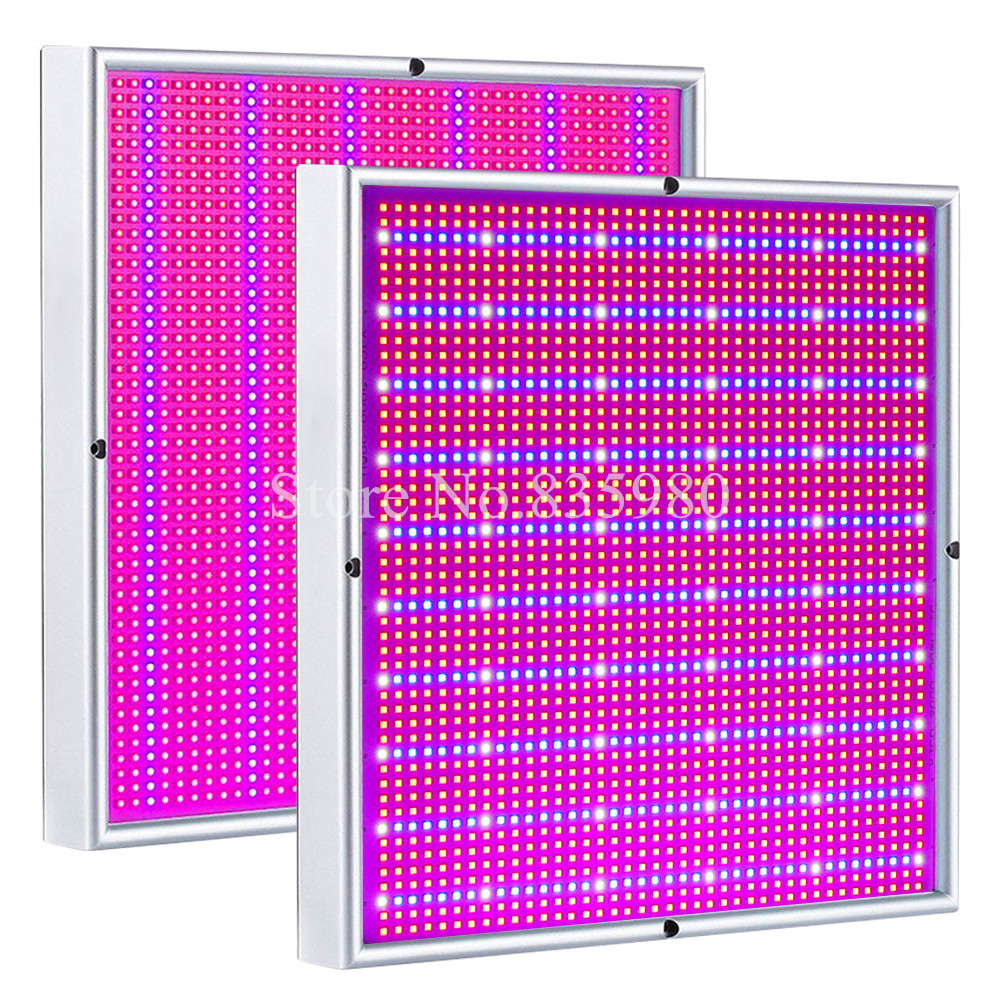 2 Pack Full Spectrum 2009LED Grow Light 200W Indoor Plant Lamp For Hydroponic Greenhouse Tent