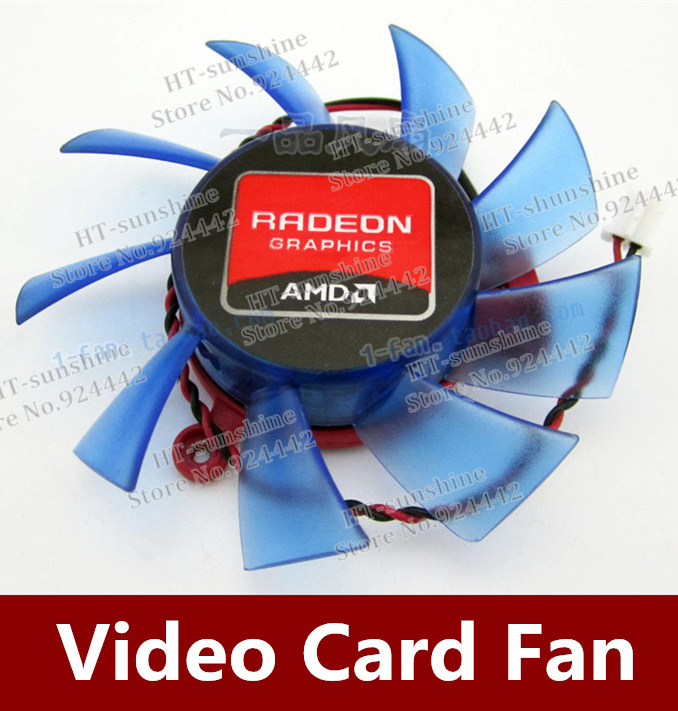 Firstd FD7015H12S 65mm Graphics / Video Card VGA Cooler Fan Replacement 39mm 12V 0.43A 2Wire 2Pin for ATI HD5750 HD5770 ga8202u gaa8b2u 100mm 0 45a 4pin graphics card cooling fan vga cooler fans for sapphire r9 380 video card