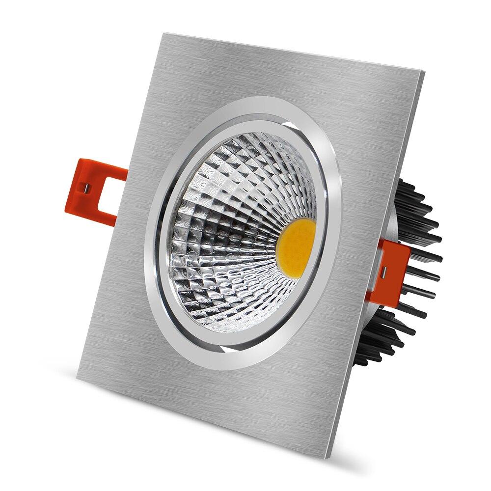 Luz LED regulable para techo 7W