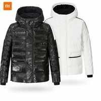 Xiaomi Youpin Uleemark chaqueta acolchada de papel DuPont para hombre Anti-fouling 4 grado repelente al agua a prueba de humedad mano algodón