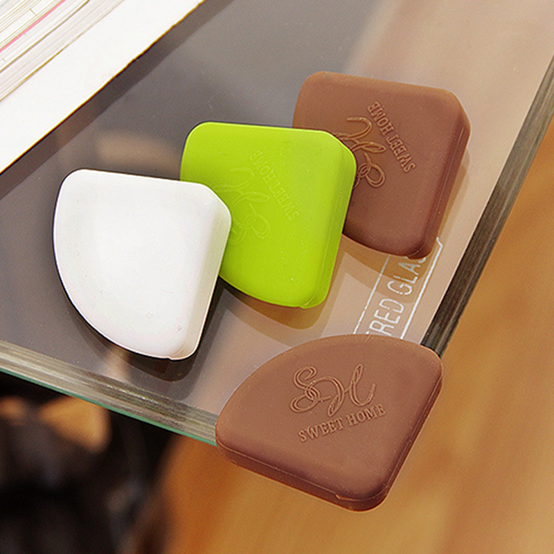 8pcs Baby Safety Table Corner Protector  Silicone Anti-Collision Angle Protection Cover Edge Corner Guard Child Security