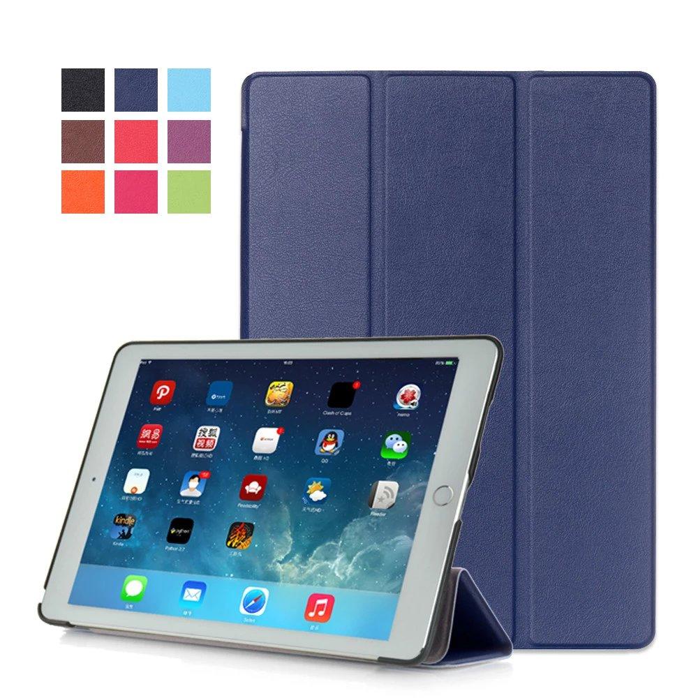 Dark blue Monochrome multicolor smart case for Apple iPad Pro 9.7 inch 2016