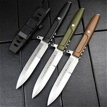 יחס קיצון קבוע להב סכין חד עמיד חיצוני קמפינג ציד הישרדות טקטי ישר סכיני EDC כלי נשיאת מעיל