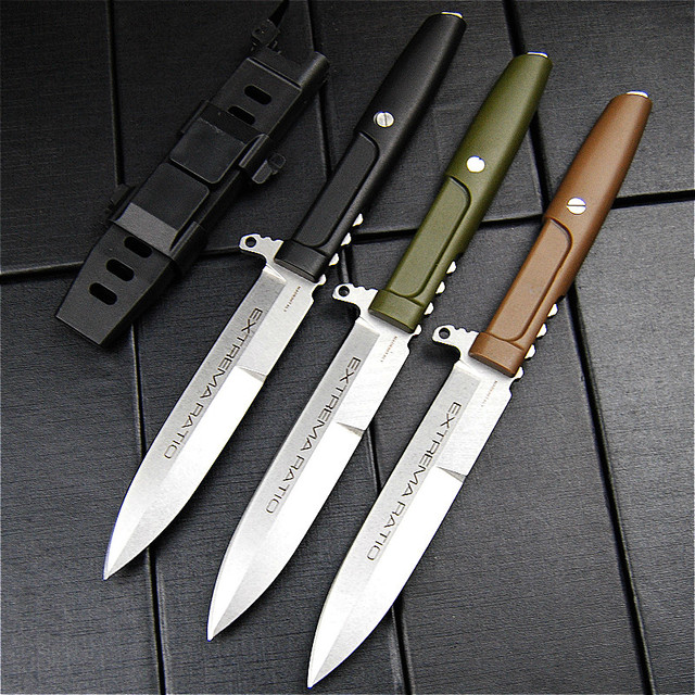 Extrema Ratio Vaste Mes Sharp Duurzaam Outdoor Camping Jacht Survival Tactical Straight Messen Edc Tool Carrying Jas