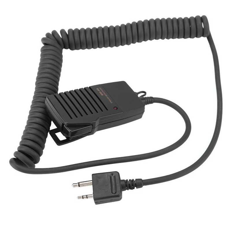 Ręczny mikrofon głośnikowy dla Icom Ic-V8 V85 V82 Ic-T2H T8A 2At W32A E90 Radio