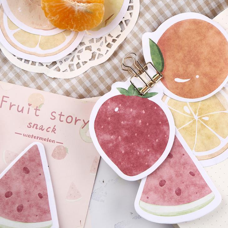 Kiwi Summer Fruits cartoon Sticky Notes