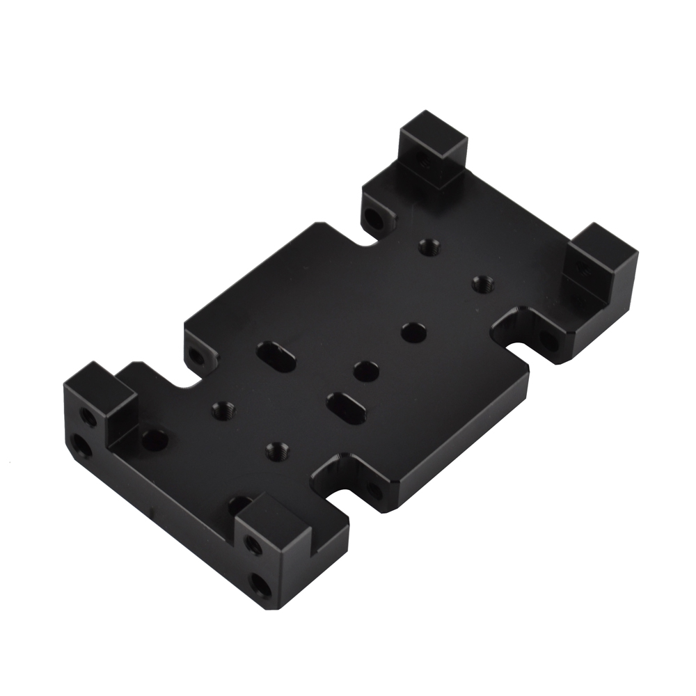 Image 2 - RCAIDONG Metal Gearbox Transfer Case Mount Holder for Axial SCX10 D90 D110 1/10 RC Crawler-in Parts & Accessories from Toys & Hobbies