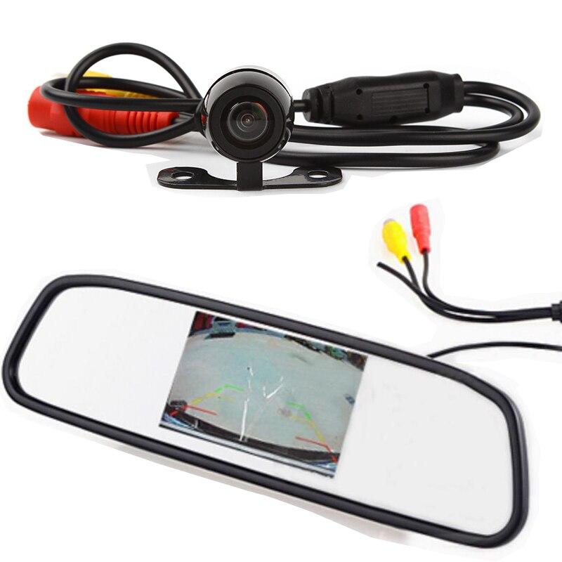 New 170 degree waterproof Mini Color CCD Reverse Backup Car ReaFront View font b Camera b