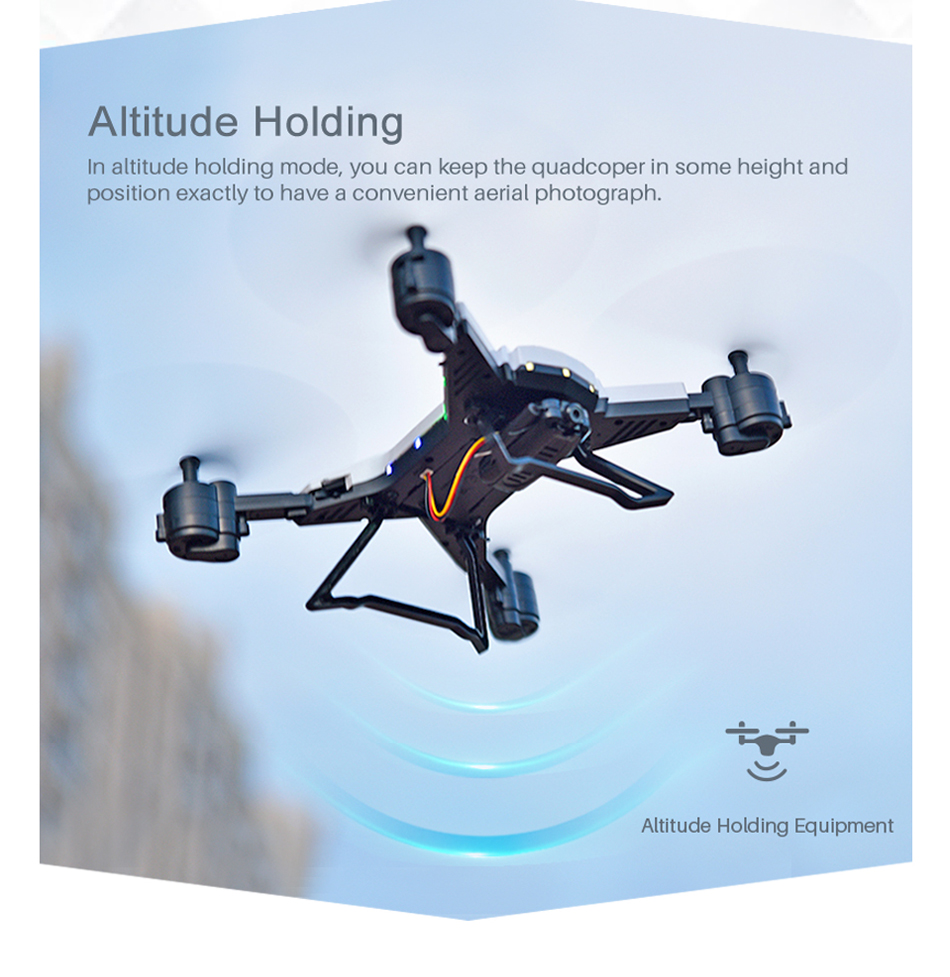 18 INKPOT KY601S Foldable RC Drone Quadcopter With 1080P HD Camera Drone Professional 1800mAH Battery Selfie Folding Dron 9