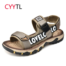 CYYTL 2019 Summer Beach Men Sandals Fashion Water Shoes Outdoor Male Flip Flops Casual Sandalia Masculina Zapatos Hombre