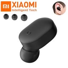 Original Xiaomi Mi Wireless Bluetooth Earphone Single Mini Headset Bluetooth 4.1 IPX4 Waterproof Bui