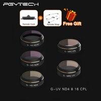 Pgytech G-ND4 nd8 nd16 mcuv cpl 필터 렌즈 세트 키트 dji mavic pro/platinum drone 액세서리 쿼드 콥터