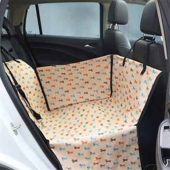 HJKL Pet Carrier Dog Car  Back Seat Carrier Cover Pet Dog Mat Blanket Cover Pet Mat Hammock Cushion Protector Dog Accessories85