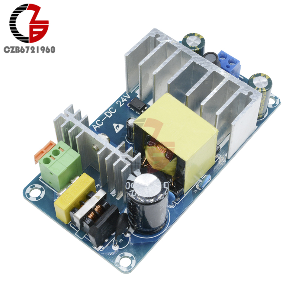 100W 4A-6A Stable High Power Switching Power Supply Board AC 110V 220V to DC <font><b>24V</b></font> Power Transformer Step Down Voltage Regulator image