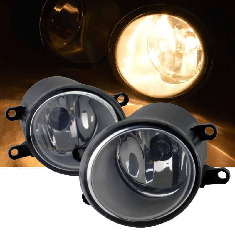 For Toyota RAV4 Camry Solara Yaris Matrix Corolla Prius Sienna Lexus Scion Fog Light Lamp Left & Right Side fit for 02 08 toyota solara camry corolla oe fog light smoke lamps wiring kit included usa domestic free shipping hot selling