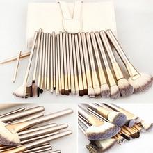 Newest 12/18 Pcs Professional Foundation Powder Blush Eyeliner Brushes Make Up Brushes Tool Kit