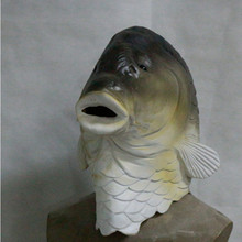 Hot New Products Festival Toys Realistic Cute Animal Latex Fish Mask Christmas Halloween Party
