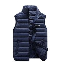 Winter Thicken Vest Men Fashion Casual Coats Male Cotton Padded Man Sleeveless Thickening Waistcoat Plus Size M 6XL Mens Jacket