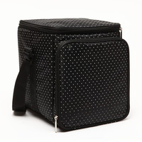 New 2014 Polka Dot The Small Car Stack Ice Pack Cooler Box Cooler Bag Cooler Bag