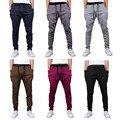 M-2XL Mens Jogger Dança Sportwear Baggy Harem Pants Casuais Solta Calças Calças Sweatpants 6 Cores