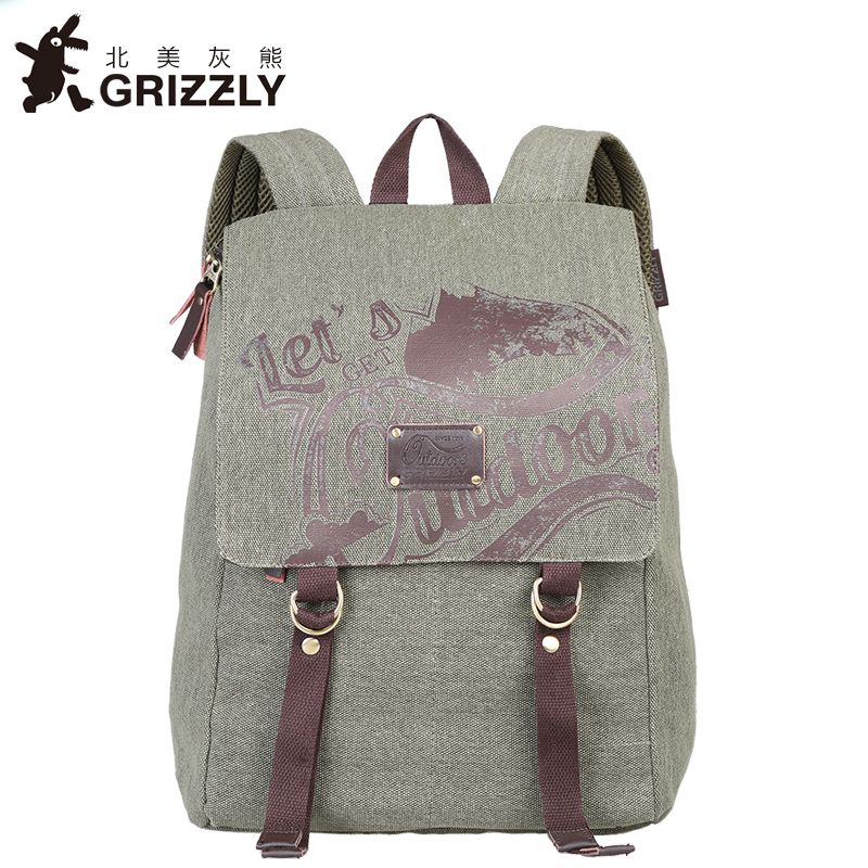 GRIZZLY Women Backpacks Fashion Mochila Multifunction Big Capacity  Waterproof Rucksack Casual School Bag for Teenger  Girls delta afb0812sh 8025 8cm 80mm 12v 0 51a dual ball fan power supply chassis cooling fan 4 pin pwm fan