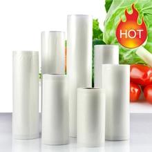 Food Grade Plastic Vacuum Storage Bags For Food Vacuum Sealer, 5 Rolls/Lot Vacuum Packing Bags Fresh Food Saver Food Bags цена