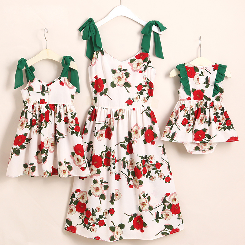 Family Look Butterflies Mother Daughter Dresses Mommy And Me Clothes Mom Mum Mama And Baby Girls Matching Dress Family Outfits