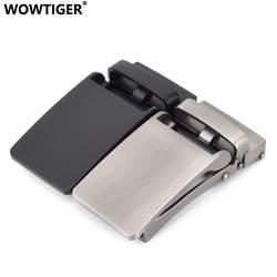 WOWTIGER для мужчин ремень высокое качество цинковый сплав пряжка ремня подходящая для 3,0 см широкий ремни hebilla cinturon Букле Де ceinture