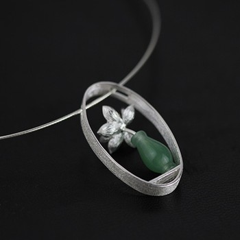Art Silver Necklaces and Pendants3