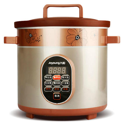 Automatic Electric Stew Pot Appointment Redware Liner Porridge Electric Slow Cooker Mechanical Timer Control Large Capacity dmwd electric kettle eggs slow cooker teapot multifunction porridge stew pot hot water boiler timing milk heater 1 8l 110v 220v