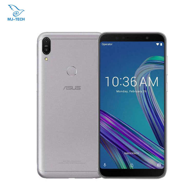 Global ASUS ZenFone Max Pro M1 ZB602KL 4G 64G 6 pulgadas 18:9 FHD Snapdragon 636 Android 8,1 Dual 16MP 4G LTE identificación facial Smartphone