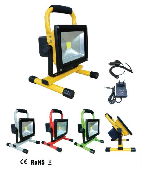 Free Shipping Hot Selling Portable IP65 LED Floodlight Rechargeable 50w Outside Camping Lamp Emergency Light With Charger